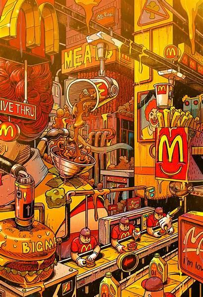 Fast Misang Illustrations Mr Supersize Them Grid