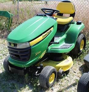 John Deere X300 Riding Lawn Mower