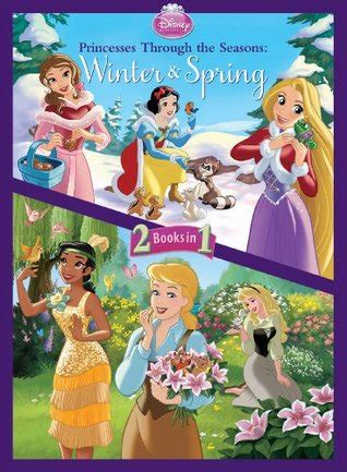 princesses   seasons winter spring  walt disney company