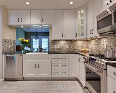 Houzz Glass Backsplash : Miller Kitchen · More Info