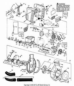 Poulan Gbi22v Gas Blower Parts Diagram For Blower Assembly