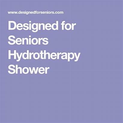 Shower Hydrotherapy Seniors Designed Bathroom Showers Thelilybirdblog