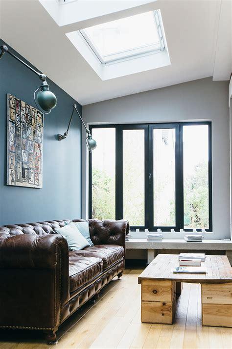 appliques murales cuisine nuances de bleu style industriel frenchy fancy