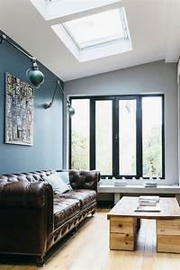 Deco Style Industriel : nuances de bleu style industriel frenchy fancy ~ Melissatoandfro.com Idées de Décoration