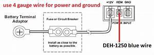 Deh P4700mp Wiring Diagram