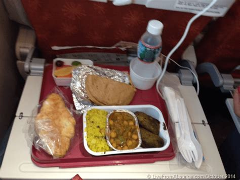 cuisine domactis my jet airways wishlist consistent economy meal service live from a lounge
