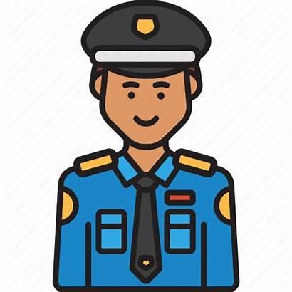 Policeman Police Uniform Male Cop Icon Iconfinder