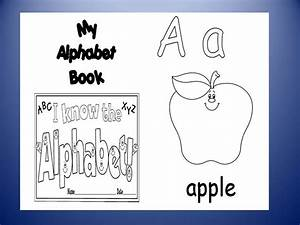free abc book cover coloring pages With printable alphabet book template