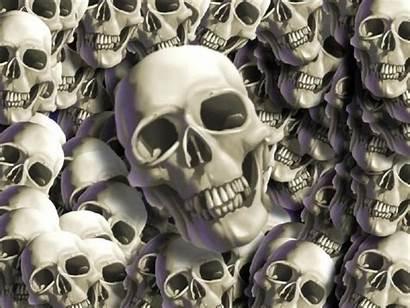 Skulls Skull Wallpapers Dark Halloween Gothic Totenkopf