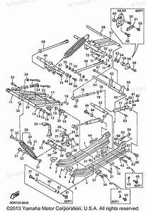 Yamaha Snowmobile 1998 Oem Parts Diagram For Track