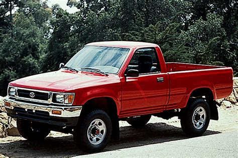 toyota pick up 1990 94 toyota pickup consumer guide auto