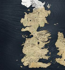 Game Of Thrones High-Res Map | Movie Wallpapers