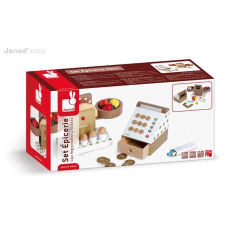 cuisine janod en bois set pour marchande en bois janod epicerie chic jouet