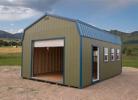Prefab Garages - Montana Shed Center