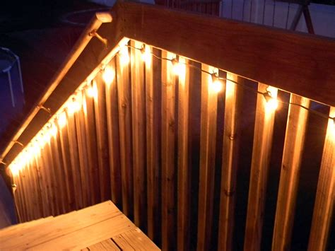 deck railing lights ideas quick tip 5 lighting the deck organize and decorate everything