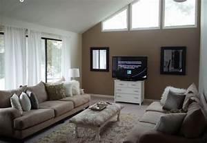 Schräge Wände Gestalten : wohnzimmer wandfarben gestaltung ~ Lizthompson.info Haus und Dekorationen