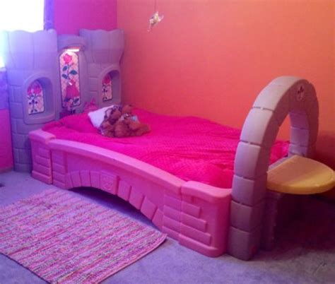 Step2 Princess Palace Bed by Step 2 Princess Palace Castle Bed Toddler To With