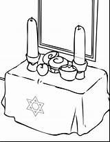 Coloring Hanukkah Pages Dreidel Chanukah Symbols Clipartmag sketch template