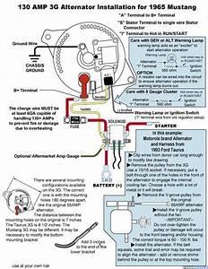 Wiring Mess Alternator  Solenoid  Ignition