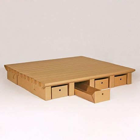 Stange Design Bett by Bett Stange Design Cardboard Furniture Make