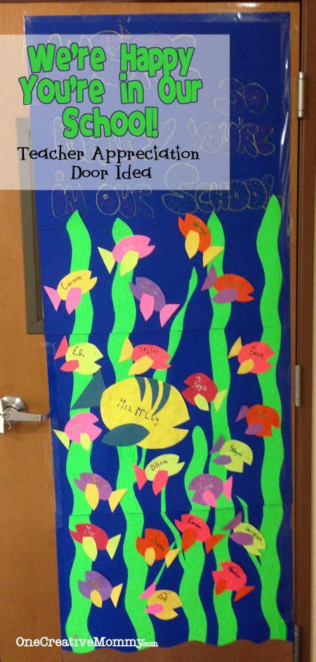 teacher appreciation door ideas onecreativemommycom