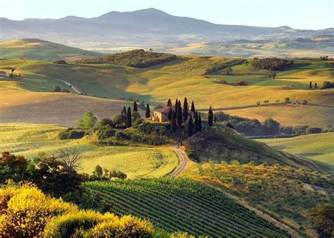 Stunning Images Country Villa Val Dorcia Tuscany