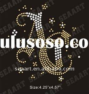 baby girl rhinestone letters transfer for sale price With heat press letters wholesale