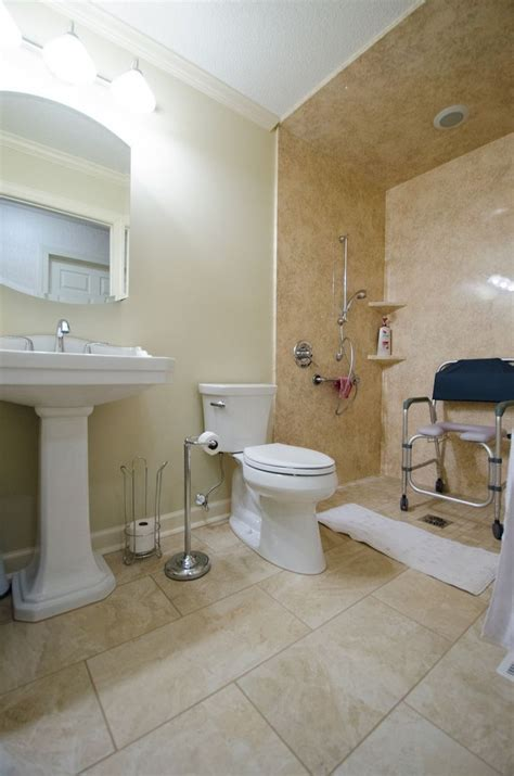 Accessible Bathroom Design by 99 Cool Wheelchair Accessible Bathroom Design 55