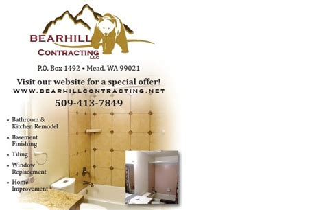 Bearhill Contracting LLC Have You Seen Us?