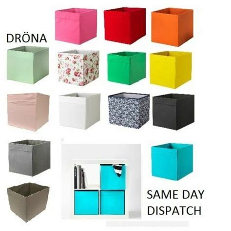 Ikea Drona Box Expedit Magazine Storage Kallax Shelving