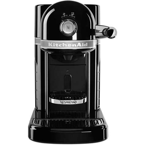 Ideas For Kitchen Window Treatments - kitchenaid nespresso 5 cup espresso machine kes0503ob