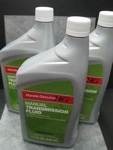Manual Transmission Fluid Honda Genuine Mtf