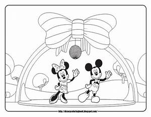 Disney Coloring Pages And Sheets For Kids  Mickey Mouse Clubhouse 4  Free Disney Coloring Sheets