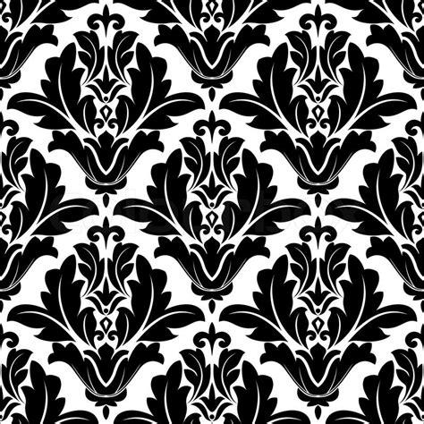 bold black  white arabesque design stock vector