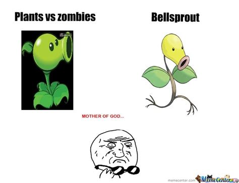 Plant Memes - plants vs zombies and bellsprout by the duke meme center