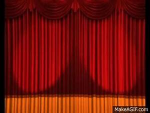 Anime opening gif find share on giphy for Theatre curtains gif