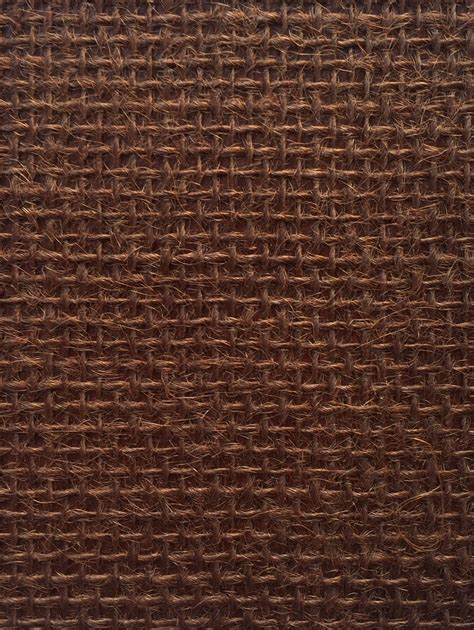 hessian large brown