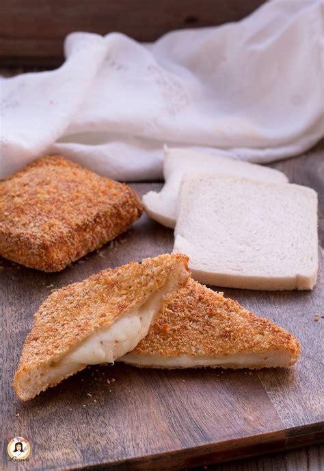 mozzarella in carrozza in forno mozzarella in carrozza al forno un rustico facile e