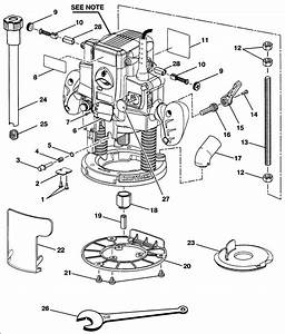 Craftsman Router Replacement Parts
