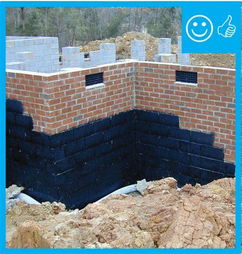 damp proof exterior surface   grade walls