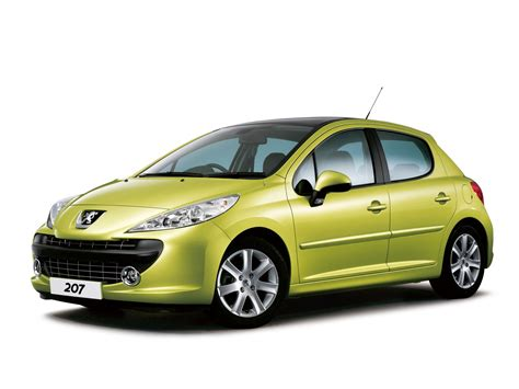 Peugeot 207 Specs by Peugeot 207 5 Door Uk Spec 2006 09