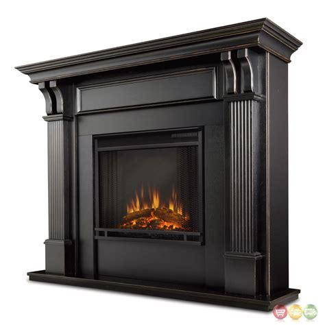 ashley indoor electric led heater fireplace  white
