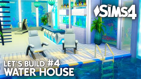 Modernes Die Sims 4 Haus Bauen  Water House #4 Let's
