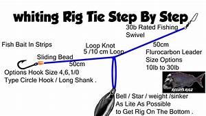 Whiting Rig Tie Fishing Rigs Make Bream Flathead Rigs