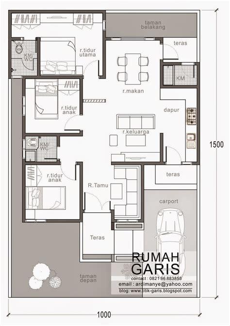 ide desain rumah minimalis ukuran