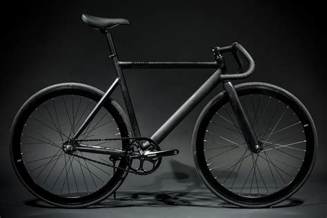 black cycling 6061 black label matte black bicycle fixie bikes state
