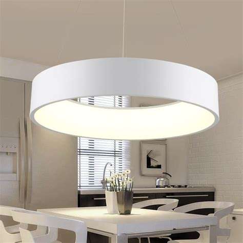 Moderne Deckenleuchten Esszimmer by Runden Esszimmer Led Decke H 228 Ngige Beleuchtung Einfache