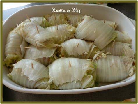 cuisiner du choux chinois chou chinois farci au chorizo recettes en