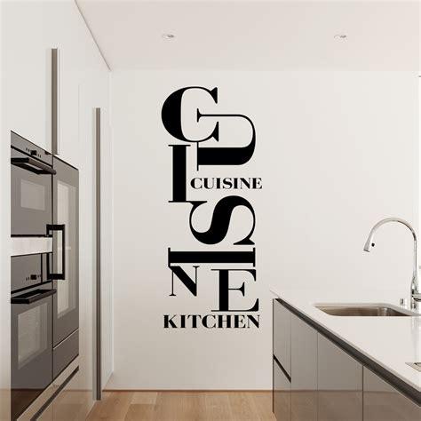 stickers muraux cuisine stickers texte cuisine sticker citation les rgles de la