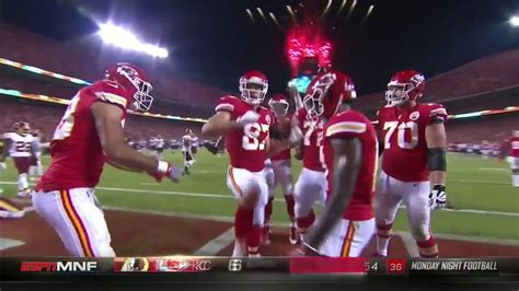 travis kelce celebration dance  touchdown  mnf